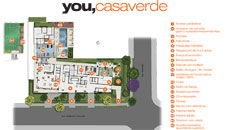 Perspectiva ilustrada da implanta��o do empreendimento you casa verde
